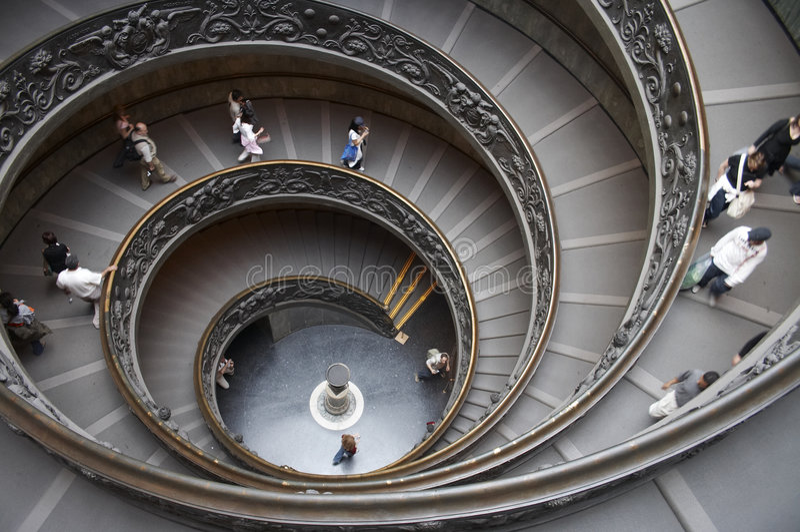 天堂台阶方式 库存照片