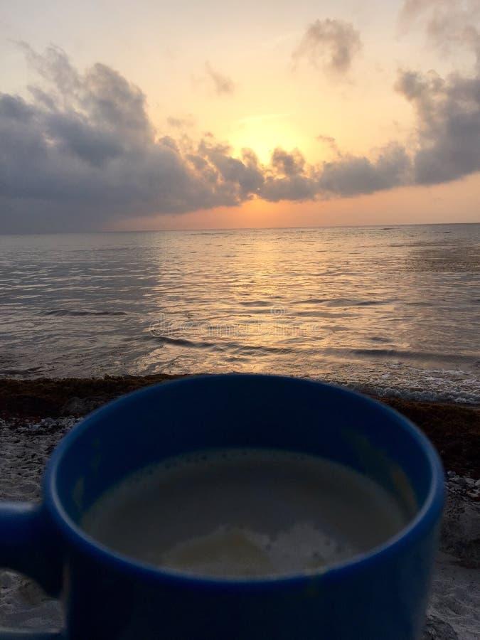 天堂咖啡 免版税库存照片