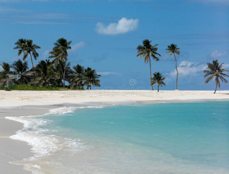 天堂海岛-巴哈马 库存照片