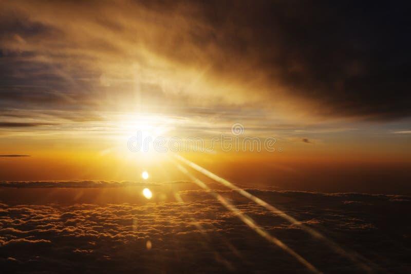 天堂的颜色 图库摄影