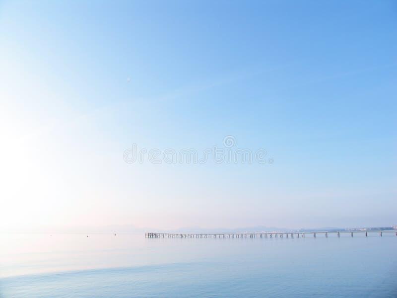 天堂码头 免版税库存图片