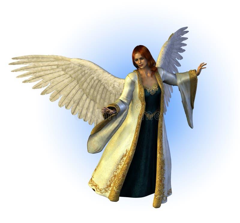 天堂般天使 库存例证