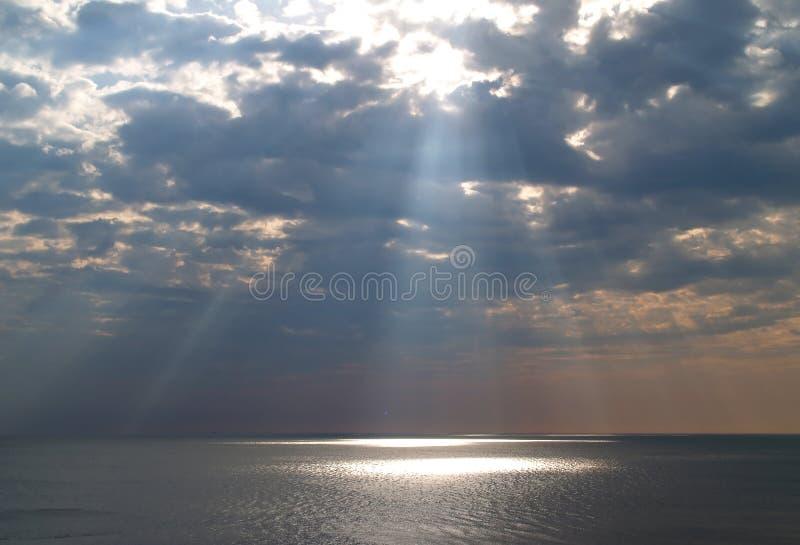 天堂般的光 免版税库存图片