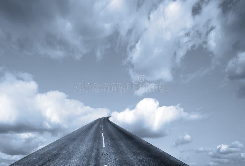 天堂般的旅途 向量例证