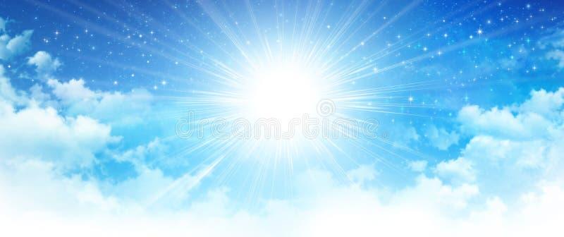 天堂般的阳光 库存图片