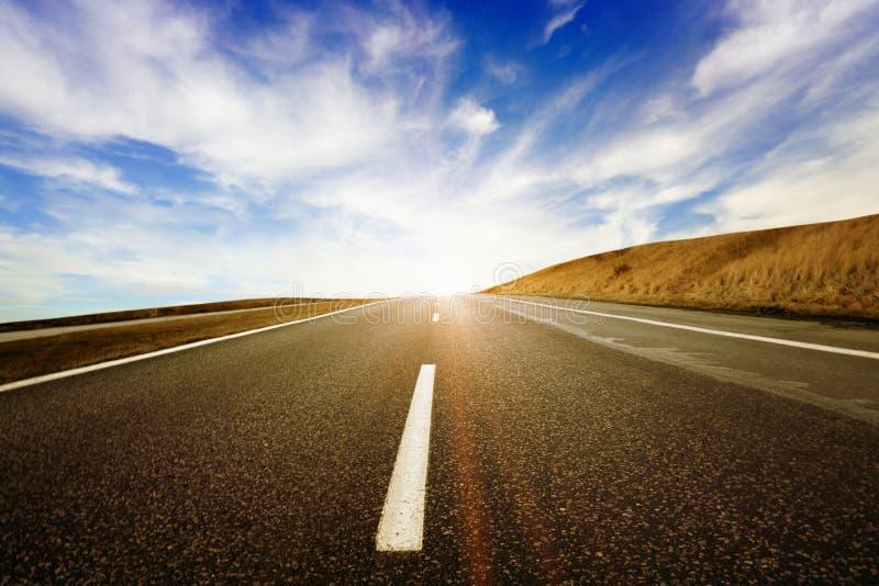 天堂高速公路 库存图片