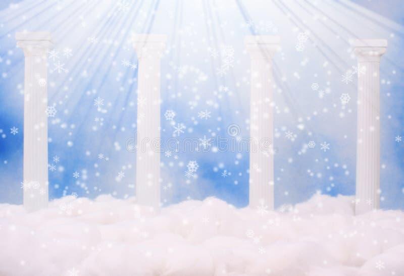 Download 天堂 库存例证. 插画 包括有 精神, 冬天, 梦想, 雪花, 天堂, 童话, 妙境, 天堂般, 王国, 云彩 - 3665705