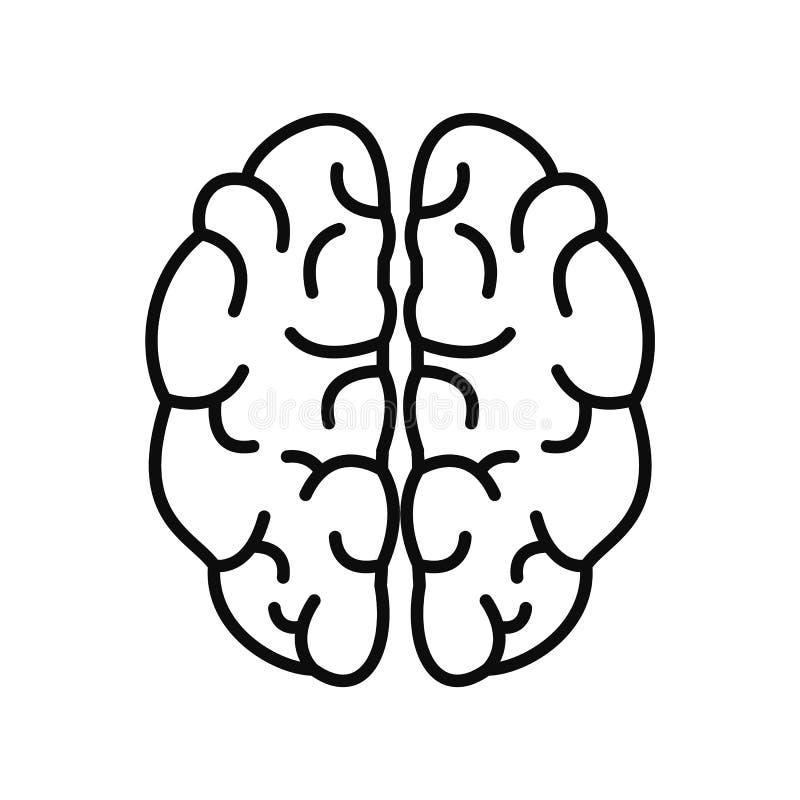 天才脑子象,概述样式 皇族释放例证