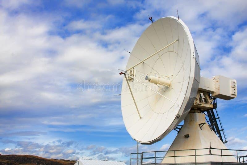 天文国家观测所收音机卫星 库存图片