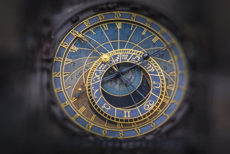 天文学时钟Orloj在布拉格 免版税库存图片