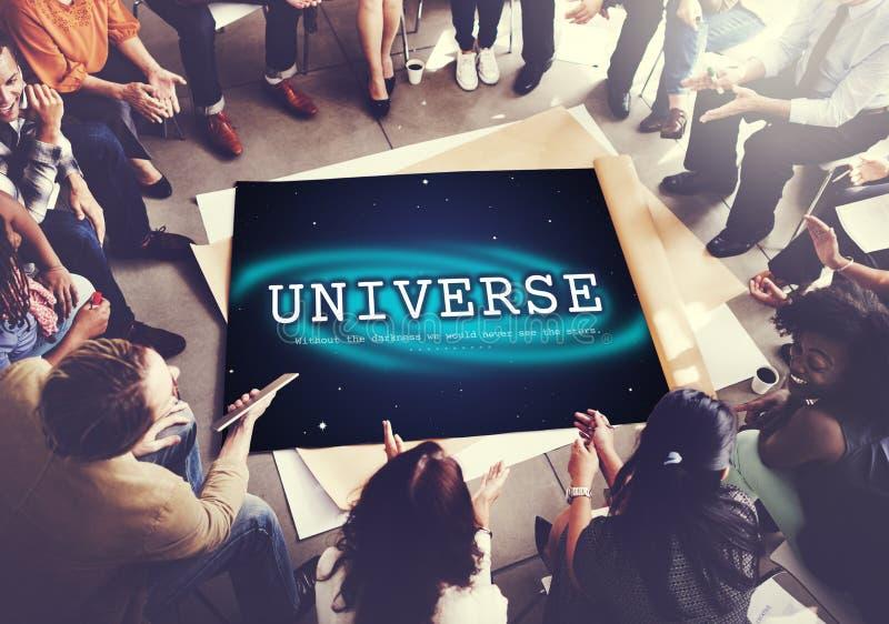 天文星座星群间宇宙概念 免版税图库摄影