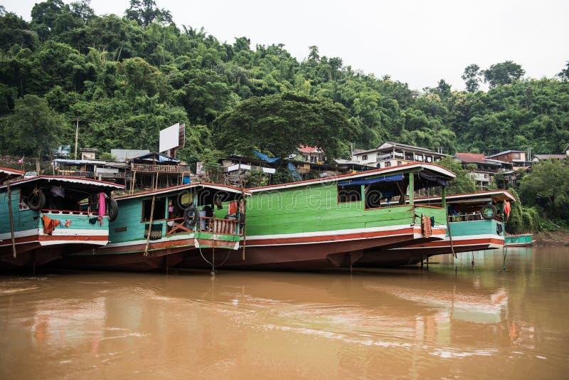 天旅行向湄公河 免版税库存图片