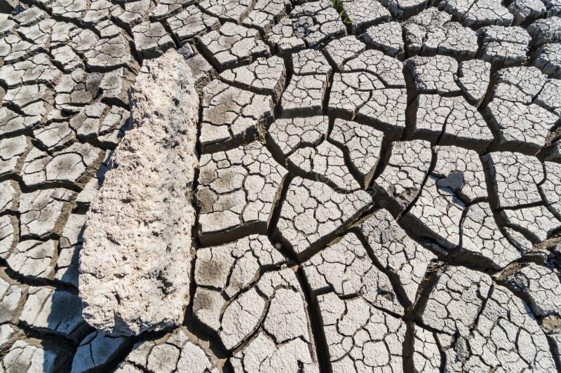 天旱,地球镇压,自然灾害 库存照片