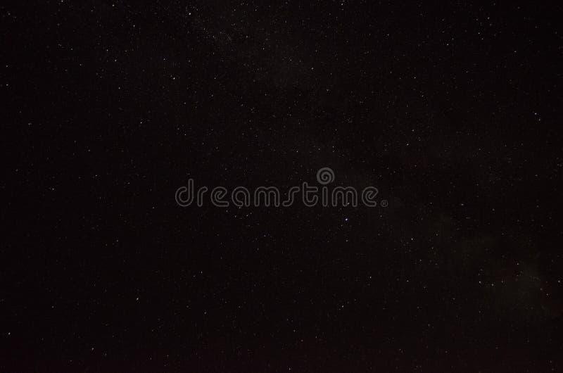 满天星斗背景的天空 免版税库存图片