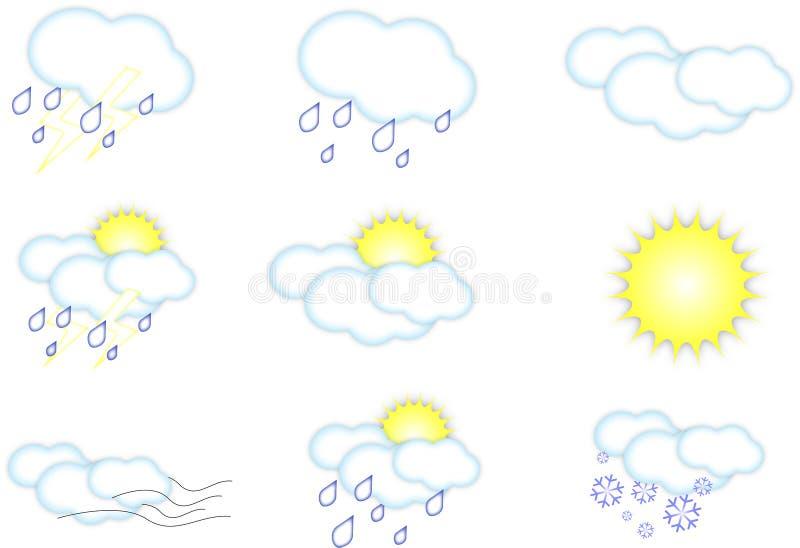 天气图标 免费库存照片