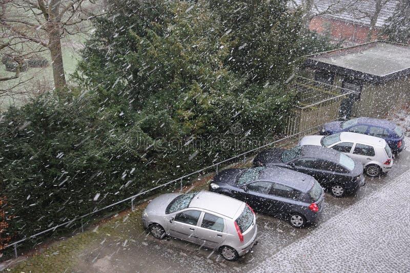 天气在哥本哈根 免版税库存图片
