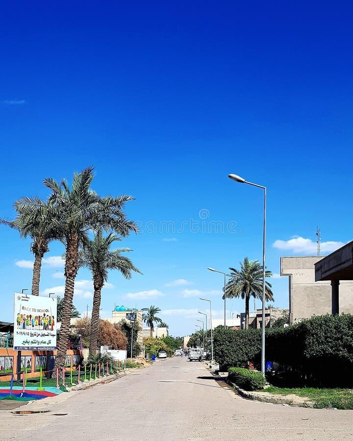 天气在巴格达 库存照片