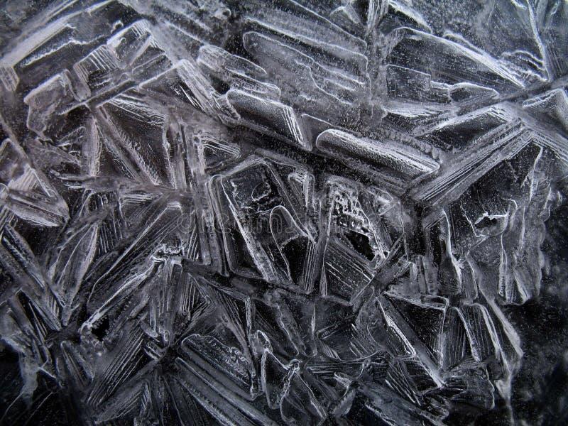 天然冰水晶 免版税库存图片