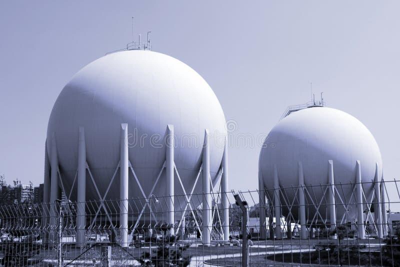 天然工厂气体 免版税库存图片