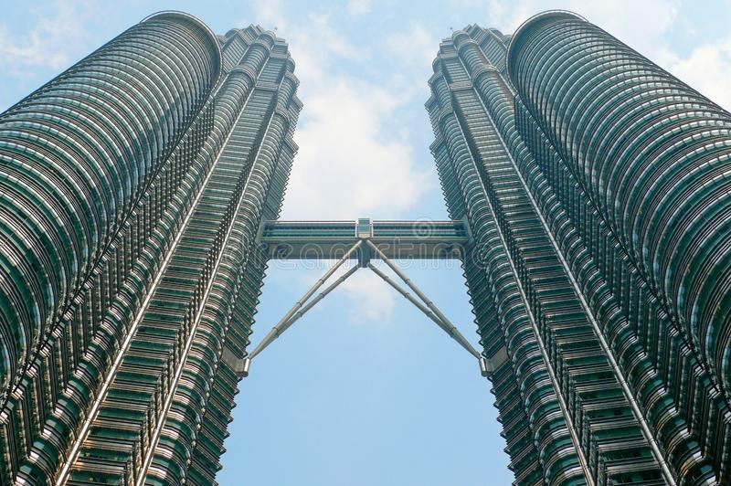 天然碱塔,吉隆坡,马来西亚 库存照片