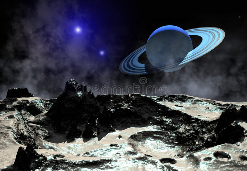 天王星 库存图片