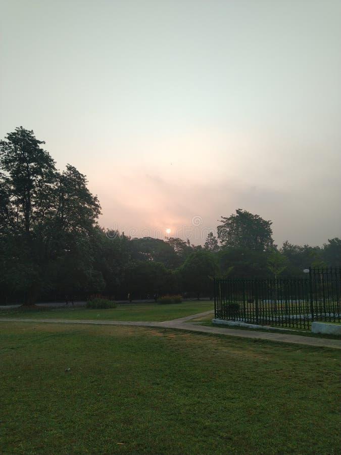 天的黎明 免版税图库摄影