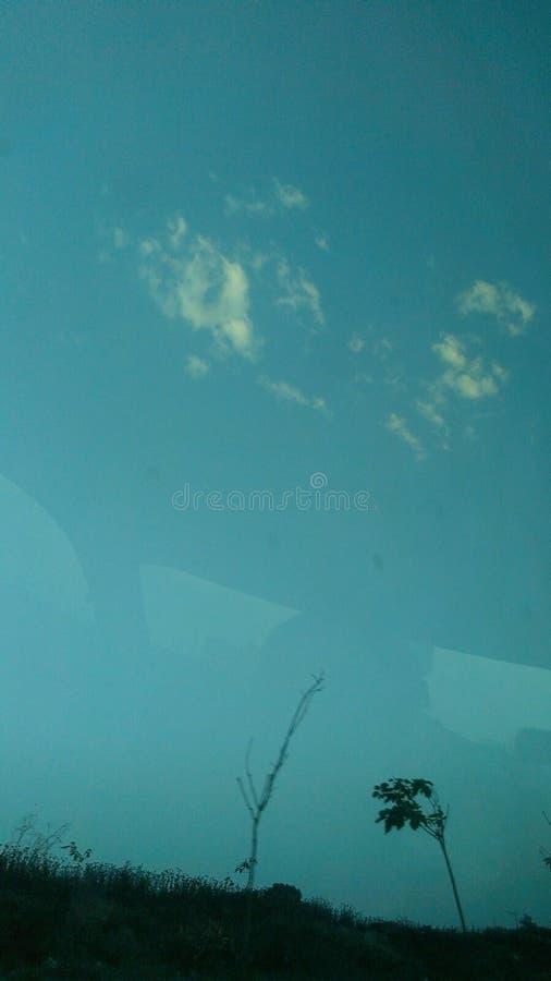天空☠ 图库摄影