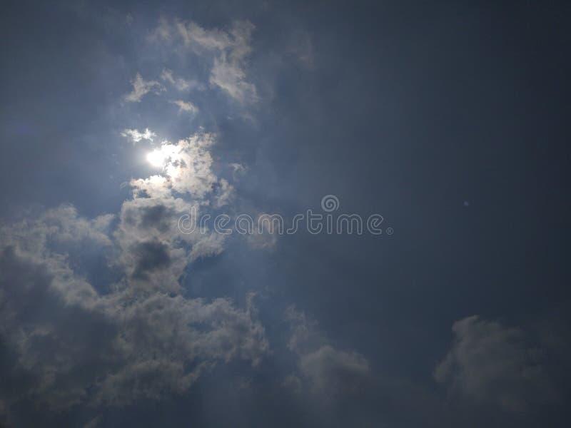 天空光  免版税库存照片