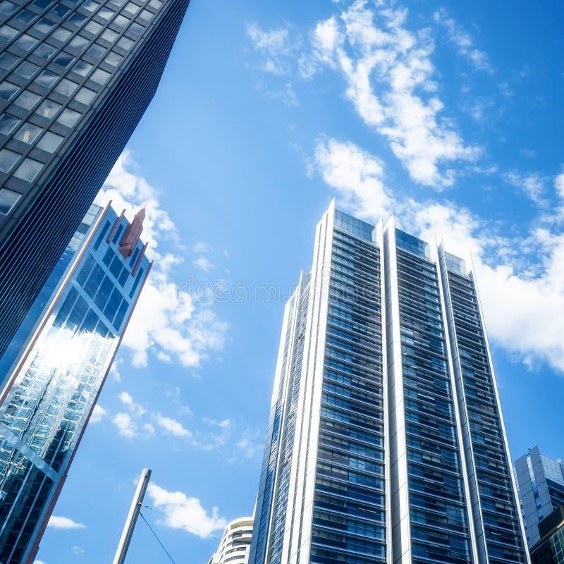 天空刮板悉尼 免版税库存照片