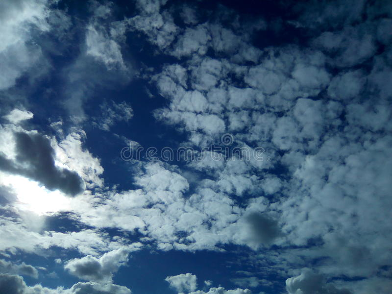 天空危地马拉 库存图片