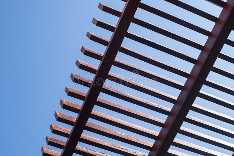 天空和屋顶 免版税库存图片