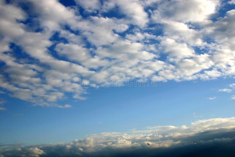 天空夏天 库存照片