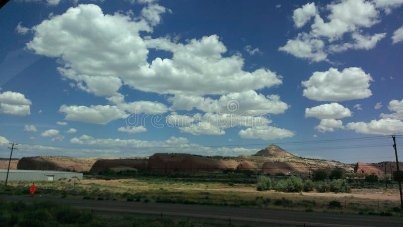 天空完美 免版税库存图片