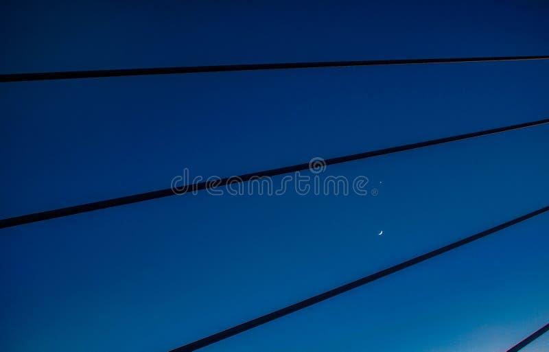 天空弦  库存图片