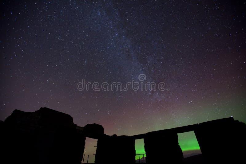 天空星形 库存图片