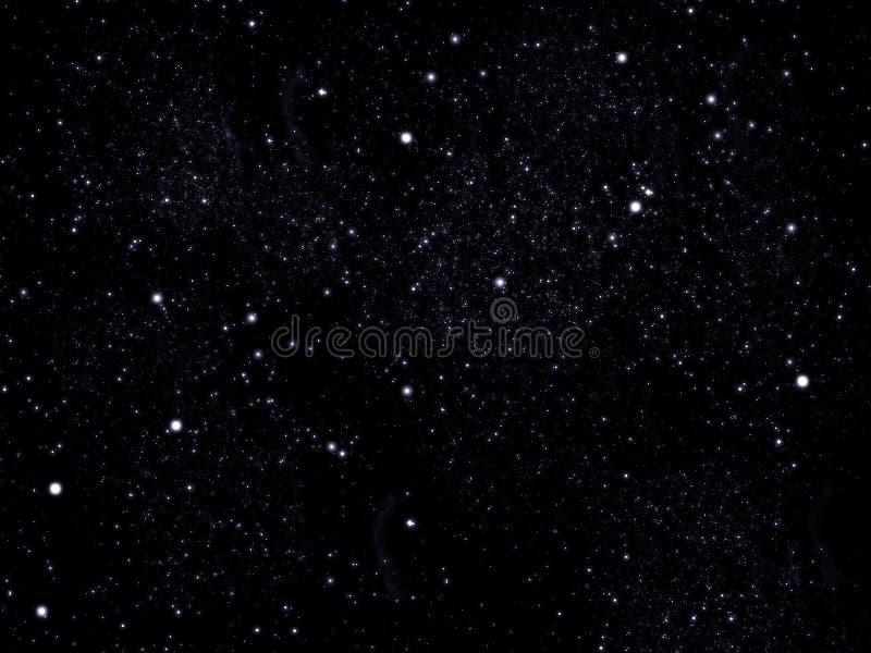 天空星形 免版税库存照片