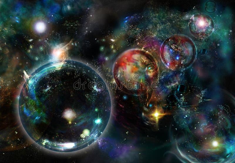 天空星形 皇族释放例证