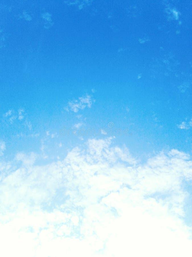 天空是美丽的 库存图片
