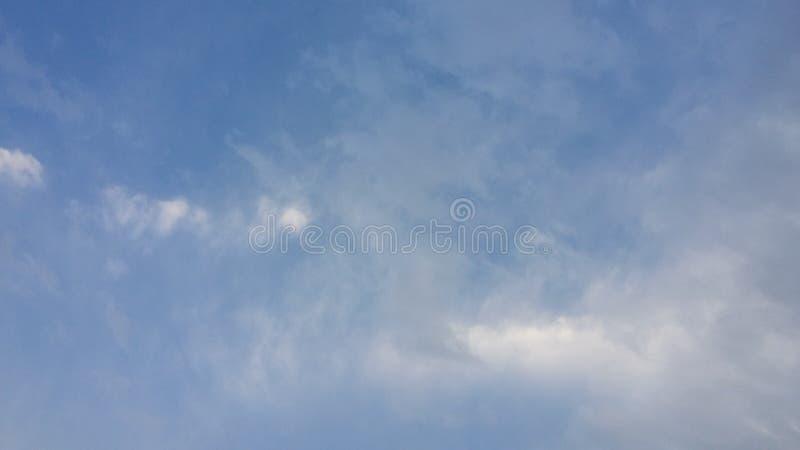 天空是美丽的 库存照片