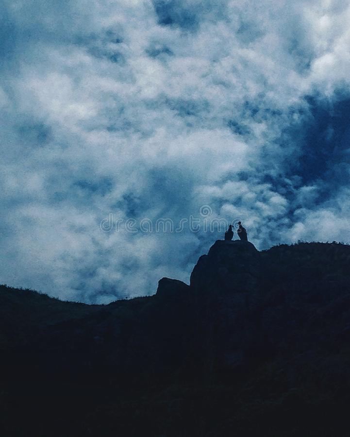 天空是限额 图库摄影