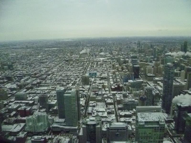 从天空的多伦多 免版税库存图片