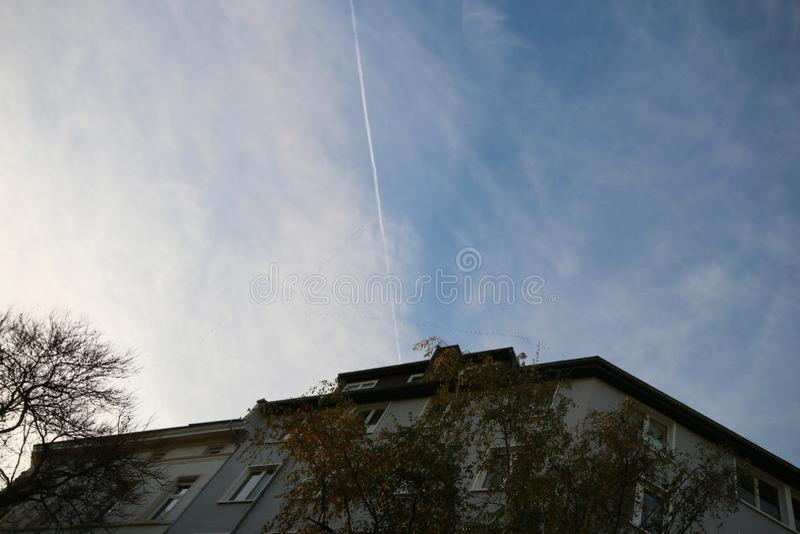 天空背景,cloudscape 免版税库存照片