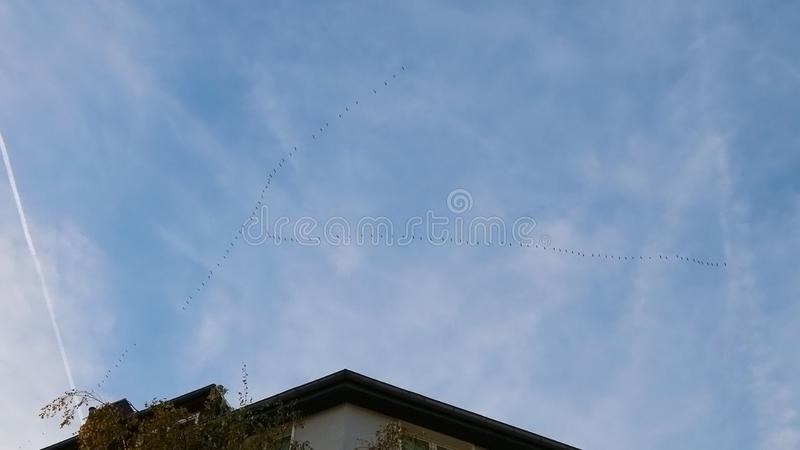 天空背景,cloudscape 免版税库存图片