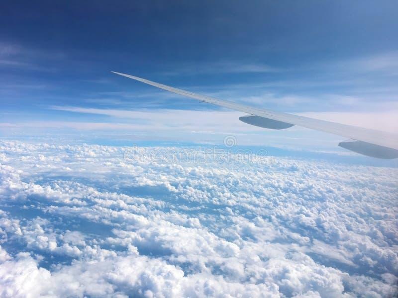 天空背景,cloudscape 免版税图库摄影