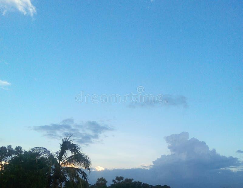 天空自然 免版税库存照片
