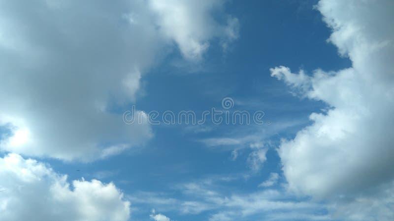 天空谷 库存图片