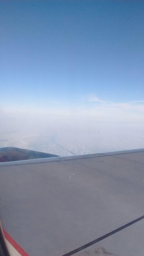天空阿雷基帕秘鲁 免版税库存图片
