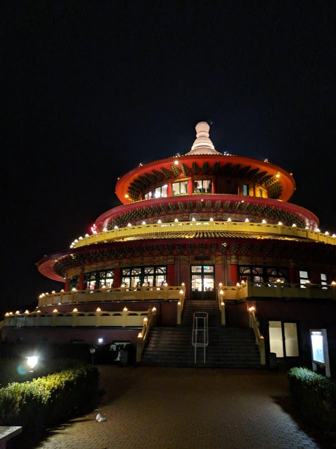 天空pagode 免版税库存照片