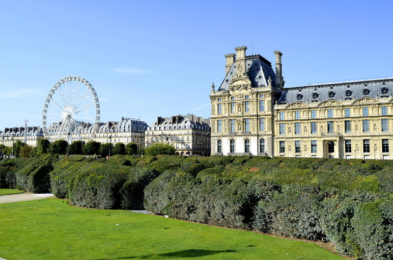 天窗博物馆巴黎 图库摄影