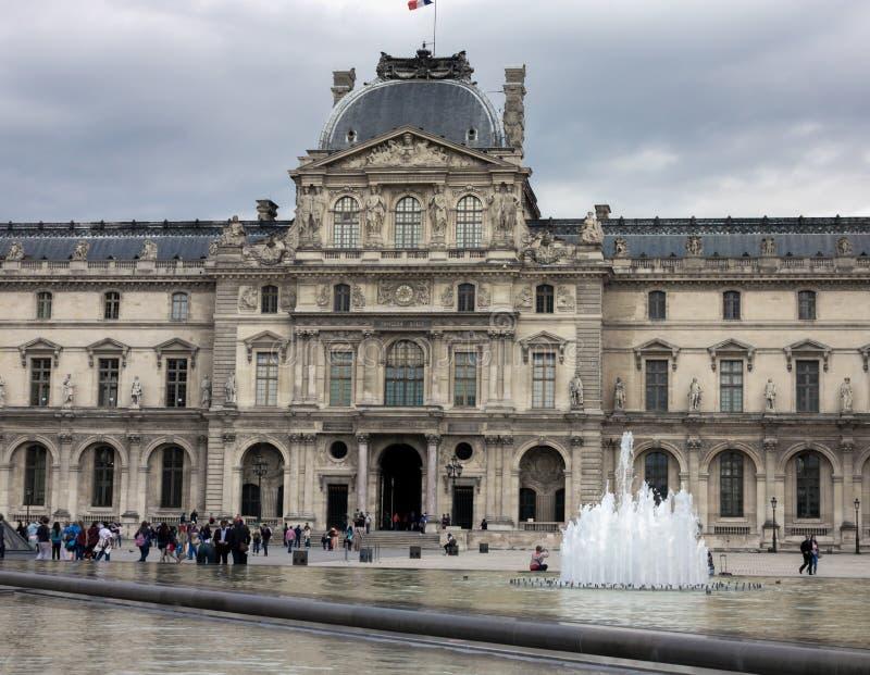 天窗故宫博物院在巴黎,法国,2013年6月25日 免版税库存照片